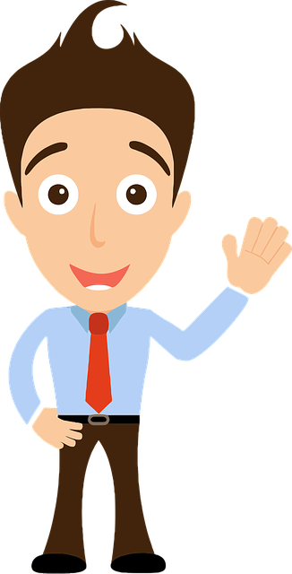 Comic Characters Hello Man - Free vector graphic on Pixabay (754729)