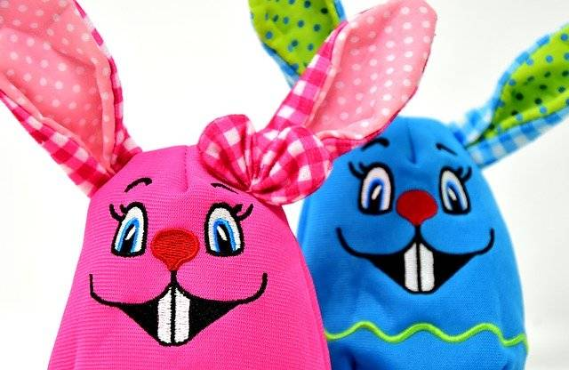 Easter Bunny Colorful - Free photo on Pixabay (754736)