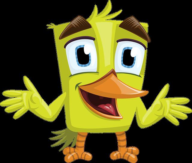 Bird Green Charming - Free vector graphic on Pixabay (754738)