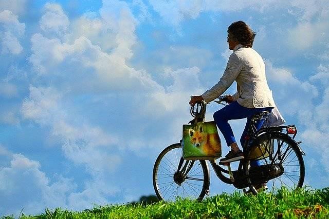 Woman Person Cyclist - Free photo on Pixabay (754745)