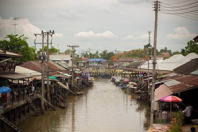 Floating Market Canal Classic - Free photo on Pixabay (754761)