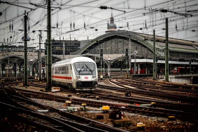 Railway Station Cologne Train - Free photo on Pixabay (755234)