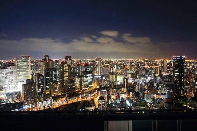 Japan Osaka Night View - Free photo on Pixabay (755608)
