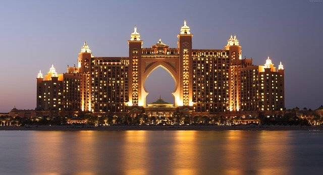 The Palm Atlantis Dubai - Free photo on Pixabay (755728)