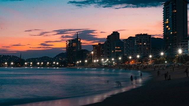 Acapulco Sunset Mexico - Free photo on Pixabay (755729)