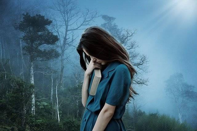 Girl Sadness Loneliness - Free photo on Pixabay (756282)