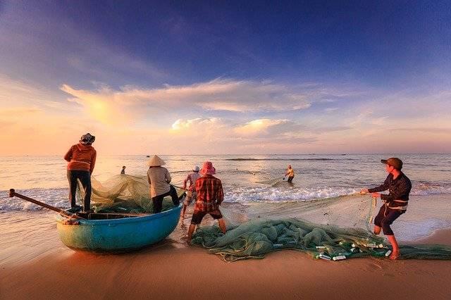 Fishermen Fishing Sea - Free photo on Pixabay (756286)