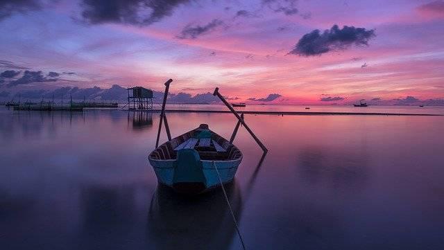 Sunrise Boat Rowing - Free photo on Pixabay (756534)