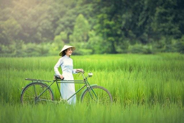 Bicycle Woman Green - Free photo on Pixabay (756603)