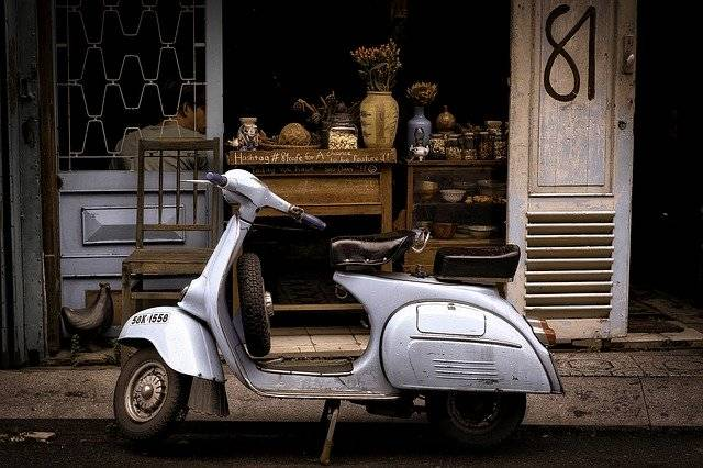 Scooter Moped Travel - Free photo on Pixabay (756657)