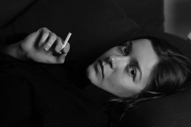 Woman Cigarette Smoking - Free photo on Pixabay (756840)