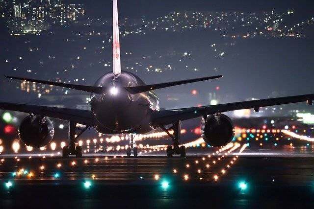 Night Flight Plane - Free photo on Pixabay (756909)
