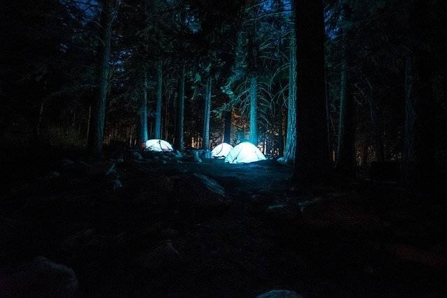 Tents Campsite Night - Free photo on Pixabay (756927)