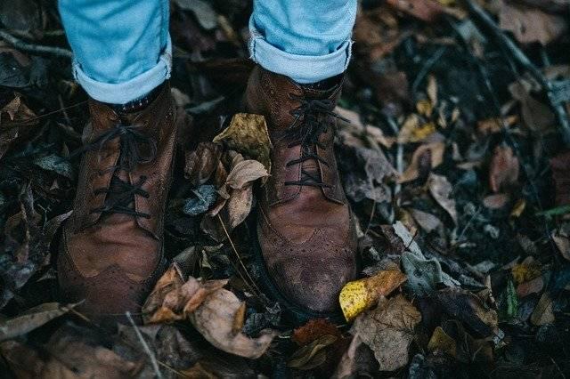 Fall Leather Shoes Feet - Free photo on Pixabay (756932)