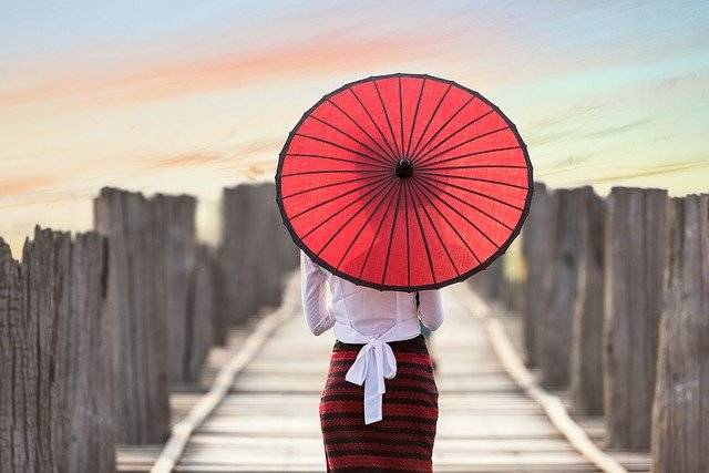 Umbrella Asia Myanmar - Free photo on Pixabay (757098)