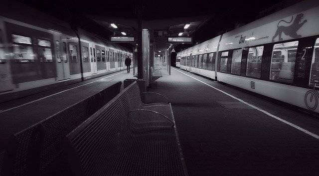 Last Train Platform Night - Free photo on Pixabay (757271)