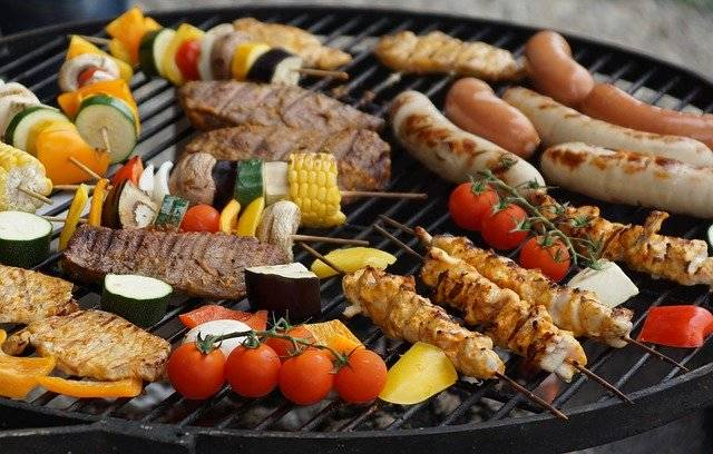 Grilling From The Tablegrill - Free photo on Pixabay (757539)
