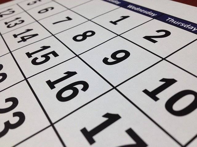 Calendar Date Time - Free photo on Pixabay (757584)