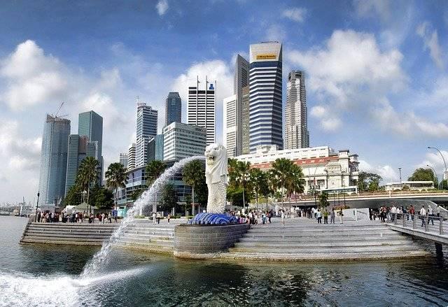 Singapore Merlion Park Asia - Free photo on Pixabay (757588)