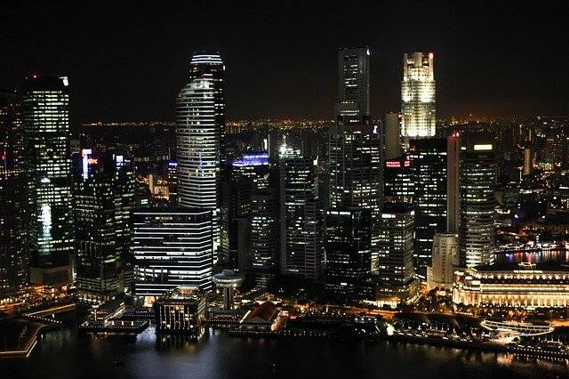 City At Night Lights - Free photo on Pixabay (757589)
