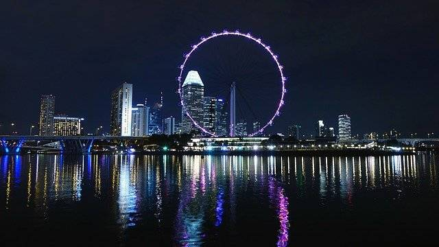 Singapore Ferris Wheel Big - Free photo on Pixabay (757595)