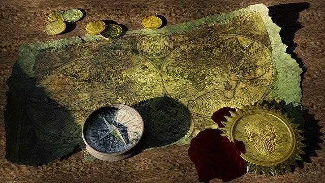 Adventure Treasure Map Old World - Free photo on Pixabay (757917)