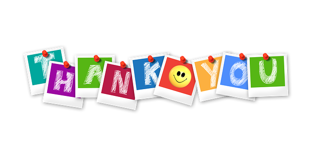 Thank You Polaroid Letters - Free image on Pixabay (757977)