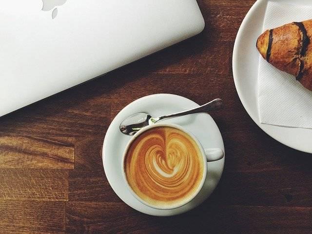Coffee Espresso Croissant - Free photo on Pixabay (758171)