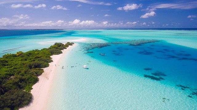 Maldives Tropics Tropical Aerial - Free photo on Pixabay (758255)