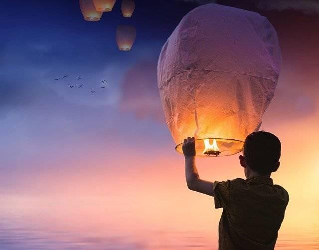Balloon Chinese Lanterns Lantern - Free photo on Pixabay (758264)