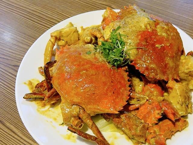 Crab 奶油咸蛋螃蟹 Seafood Salted - Free photo on Pixabay (758780)