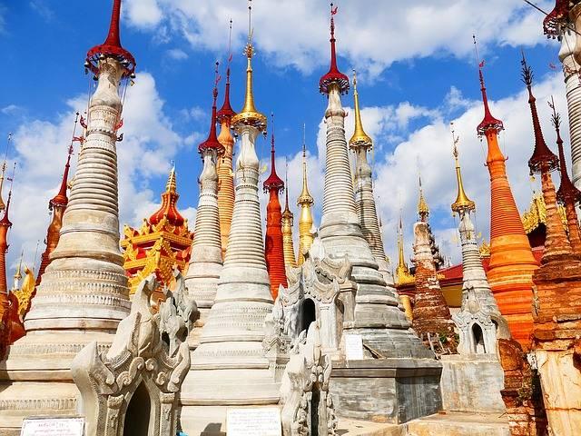 Stupas Burma In Input - Free photo on Pixabay (758987)
