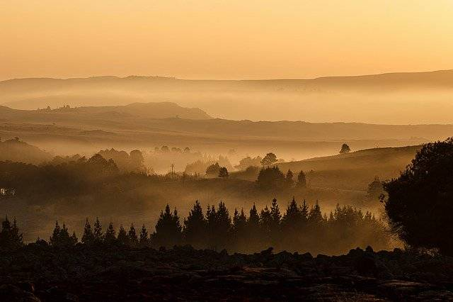 Landscape Valley Mist - Free photo on Pixabay (759040)