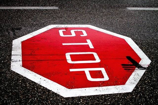Stop Road Sign Dangerous - Free photo on Pixabay (759218)