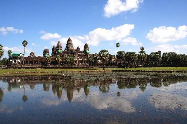 Angkor Wat Water Temple - Free photo on Pixabay (759239)