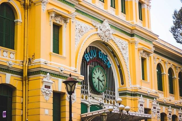 Post Office Hochiminh Letters - Free photo on Pixabay (759529)