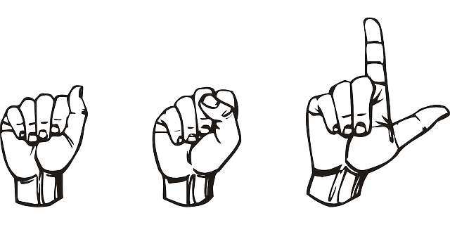 Sign Language American - Free vector graphic on Pixabay (759538)