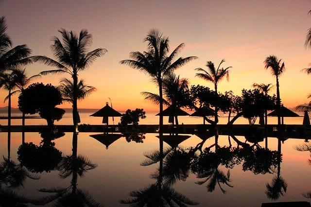 Bali Palm Trees Sunset - Free photo on Pixabay (759574)