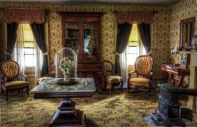 Living Room Victorian Historic - Free photo on Pixabay (759589)