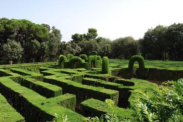 Maze Green Labyrinth - Free photo on Pixabay (759598)