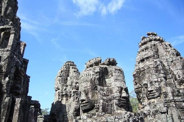 Cambodia Angkor Wat Ruins - Free photo on Pixabay (759608)