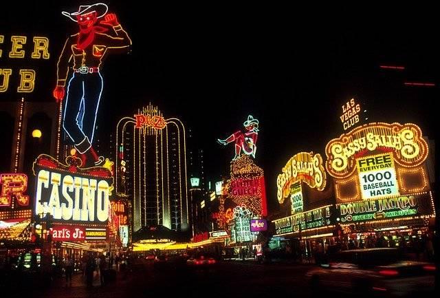 Las Vegas Night Time Neon Lights - Free photo on Pixabay (760210)