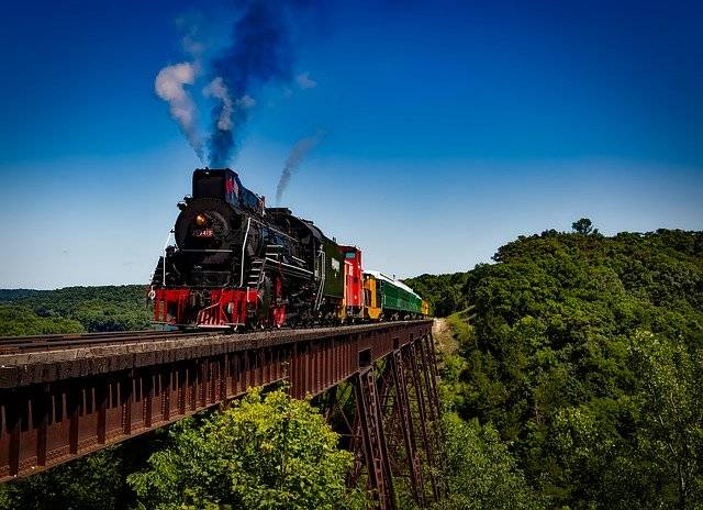 Train Locomotive Travel - Free photo on Pixabay (760214)