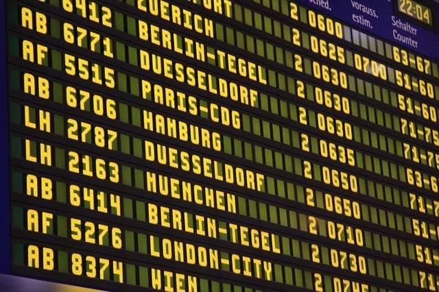 Airport Flights Scoreboard - Free photo on Pixabay (760693)