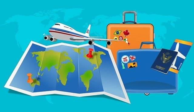 Map Flight Vacation - Free image on Pixabay (760697)