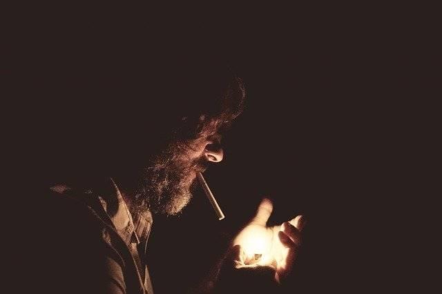Smoking Lighter Dark - Free photo on Pixabay (760797)