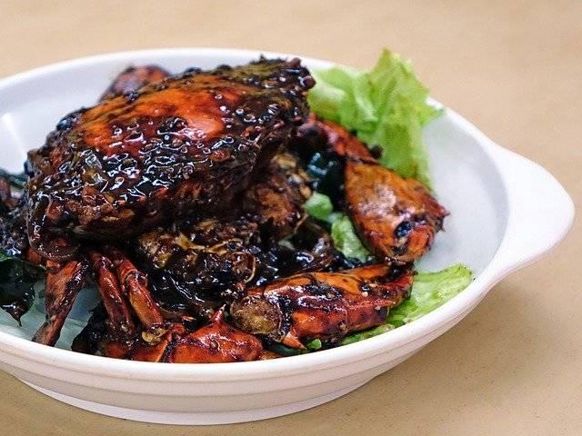 Black Pepper Crab Seafood - Free photo on Pixabay (761232)