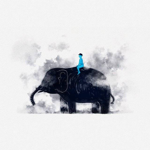 Fairy Tales Elephants Smoke - Free image on Pixabay (761247)