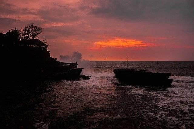 View Tanah Lot Beach Bali Towards - Free photo on Pixabay (761304)