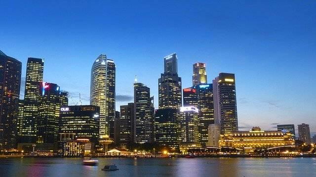 Singapore River Skyline - Free photo on Pixabay (761342)